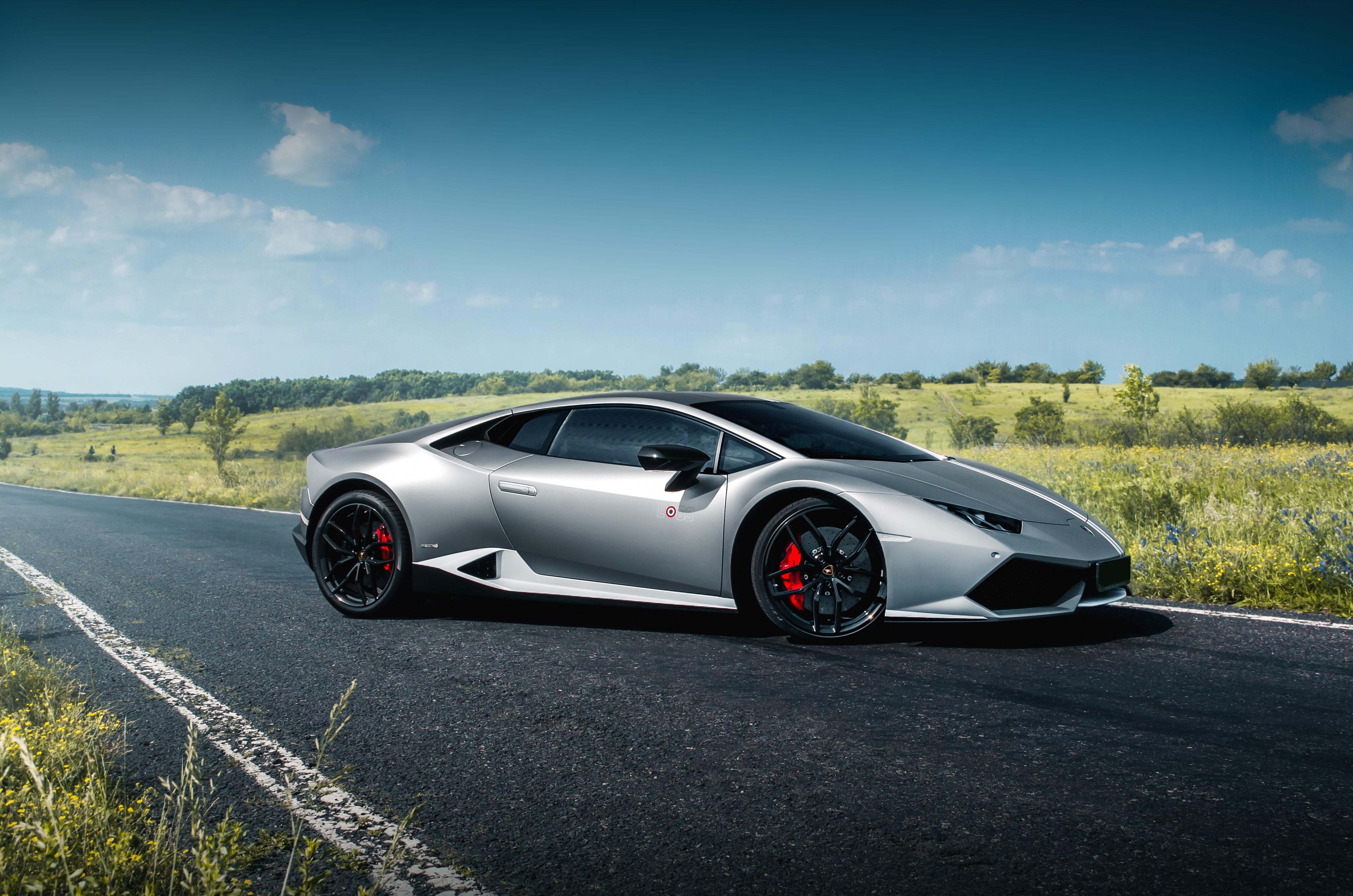 Lamborghini Huracan Grau mieten
