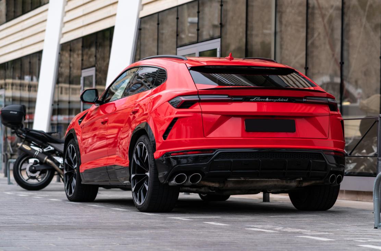 Lamborghini Urus Rot in Zürich